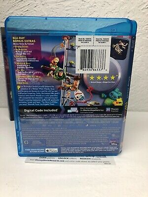 Toy Story 4 Blu-ray + Digital HD (NO DVD INCLUDED) Please Read (BEWARE OF FAKES) 4