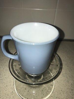 PYREX Vintage Slate Blue 8oz Cup Mug 2