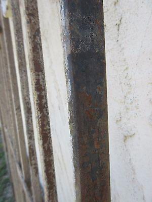 Antique Victorian Iron Gate Window Garden Fence Architectural Salvage Door #371 6