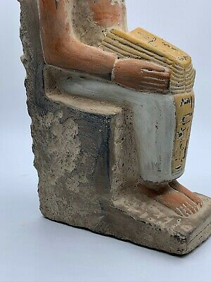 RARE EGYPTIAN EGYPT ANTIQUES ANUBIS God Deity Dog STATUE Carved 3.Kg STONE BC 6