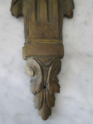 Victorian Brass Decorative Plaque 3