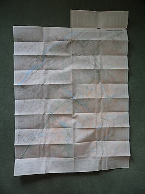 Ordnance Survey Map Snowdonia, Snowdon. 1977. Inc Llanberis, Caernarfon, Bangor 2