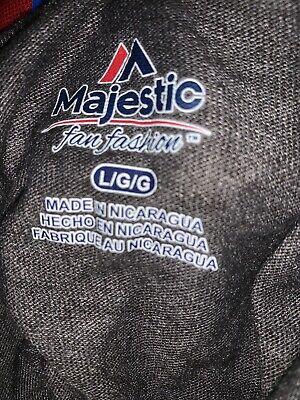 Women's NBA Basketball Majestic Fan Fashion Toronto Raptors Grey Shirt NWT Large 5