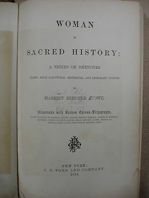 Woman in Sacred History by Harriet Beecher Stowe - 1874 - FBHP-4
