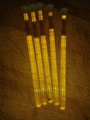 1 Röhrchen Verdunster für Heizkostenverteiler Farbe Gelb