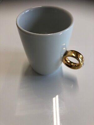 Floyd Beautiful Porcelain 2 Carat Gold Glazed Teacup 3