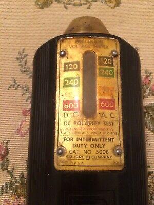 Vintage Wigginton Voltage Tester Cat No 5008 Parts Not Working 2