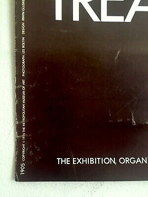 "Rare Vintage 1976 ""Treasures Of Tutankhamun"" Iconic Lrg Museum Exhibition Poster 9"