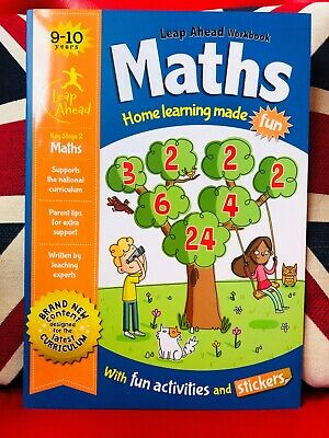 Leap Ahead Maths & English Workbooks for 9-10 Years (Paperback 2018) *NEW* 2