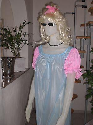 Neu Ultra Soft Pvc Nachthemd Pyjama Kleid Nightdress  L-Xl  3Xl-4Xl 10
