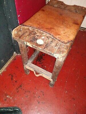 Beautiful Antique  English  Cobblers Bench 5