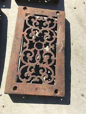 Rl 4 13 Av Price Each Antique cast-iron heating great with foot 4.75 x 8.5 2