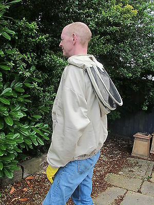 PREMIUM QUALITY Bee Smock, Fencing Veil Style - Olive. All Sizes 2