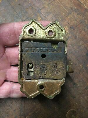 Antique Cast Brass Door/Cupboard Lift Latch Ornate Victorian Door latch 6