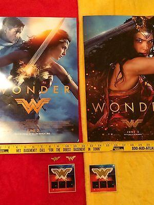 Wonder Woman movie posters Gal Gadot lot,Rebirth #1,Batman,Superman, Rare,Bonus 7