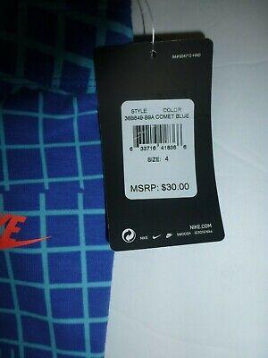Nike Girls Comet Blue Leggings Size 4 XS New 36B849 4