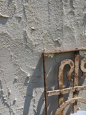 Antique Victorian Iron Gate Window Garden Fence Architectural Salvage Door #648 4