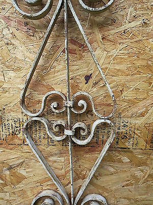 Antique Victorian Iron Gate Window Garden Fence Architectural Salvage Guard UU 3