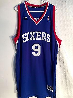 ... Adidas Swingman NBA Jersey Philadelphia 76ers Andre Iguodala Blue sz XL  2 149b817b2