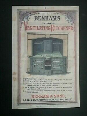 Victorian Adverts Booklet ***(See Photo's) ***(See Description For Details)*** 8
