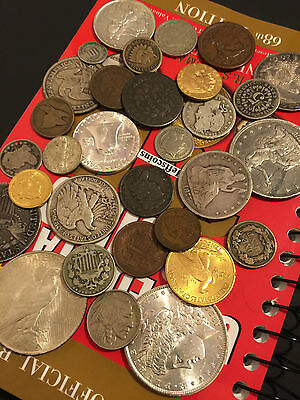 ✯Estate Sale Lot Old Us Coins✯ Money✯Gold Silver✯Big Value Collection 50 Years+✯ 8