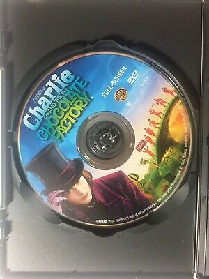 Charlie and the Chocolate Factory (Full Screen Edition) Tim Burton Film 3