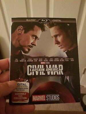 Marvel Blu Ray Movies Iron Man Thor Ant-Man Captain America Guardians Bumblebee 7