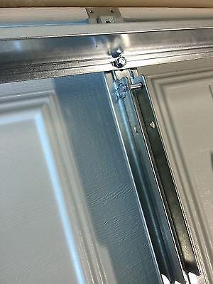 2 Of 10 2 Horizontal Garage Door Opener Reinforcement U Bar Strut Brace For  8u0027 Wide Door