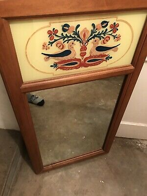 Tell City Chair Company Solid Hard Rock Maple Andover Wall Mirror 4