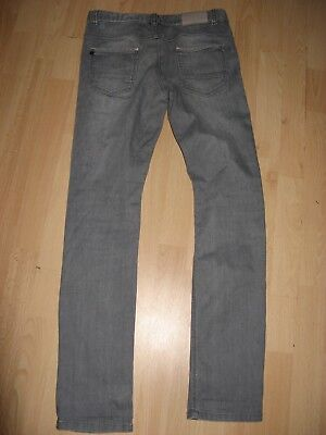 Worn Once Boys Hugo Boss Slim Fit Stretch Straight Leg Grey Jeans Age 12-13-14 8