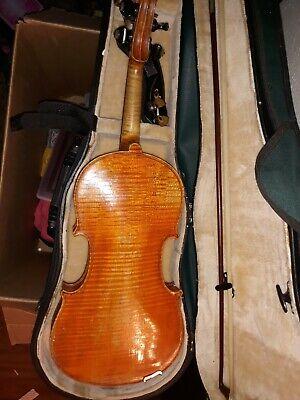 1924 Markneukirchen German Violin Made by Johann Adolf Ficker. Plays beautifull 3