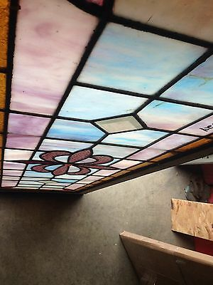 Nice Antique Stained Glass Window Sg 24 3