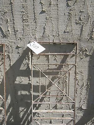 Antique Victorian Iron Gate Window Garden Fence Architectural Salvage Door #407 2