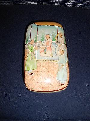 Rare Antique Persian Laquer Box 6