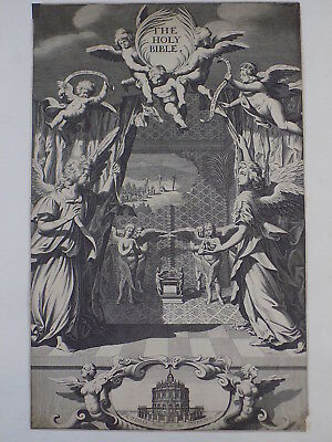 1680 Oxford First Folio King James Bible Leaf *john 14:6 I Am The Way& The Truth 4
