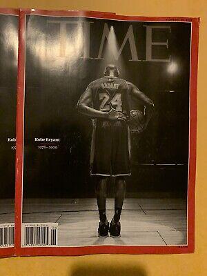 TIME MAGAZINE-2020-KOBE BRYANT (1978-2020)-Final Bow On Court- Tribute- 4