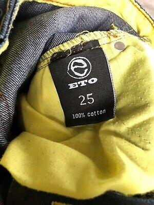 """ETO"" Boys Jeans - 25"" Waist 11"