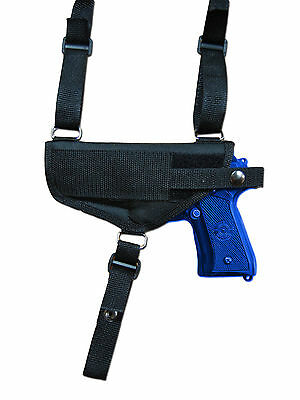Holsters, Belts & Pouches Hunting New Barsony Vertical Shoulder Holster For Astra Beretta Full Size 9mm 40 45