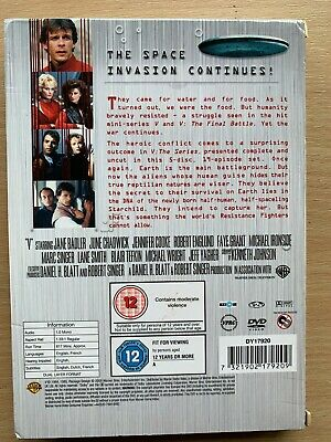 Marc Singer V Complète Série 1985 Classique Alien Sci-Fi GB DVD Coffret 2