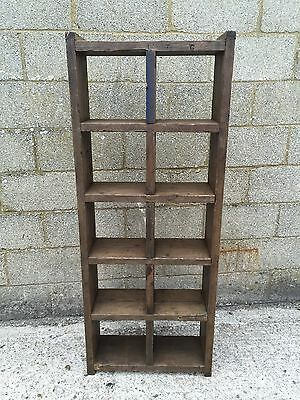 Industrial Up-Cycled Pigeon Hole Shelving Unit 5
