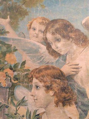 Luigi Morgari Fresco Painter (Canvas) Mary Holding Baby Jesus and Joyous Angels 5