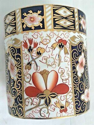Rare Royal Crown Derby 2451 Or Traditional Imari Condiment Jar - Date Code 1917 9