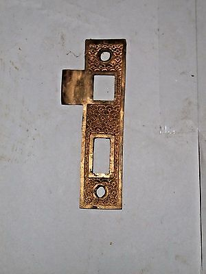 Antique Eastlake Victorian Era Door Strike #24
