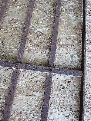 2 Antique Victorian Iron Gate Window Garden Fence Architectural Salvage Door 000 5