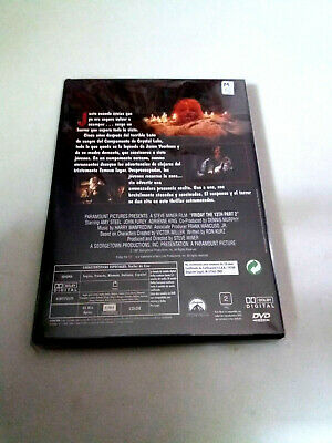 "Dvd ""Viernes 13 Parte 2"" Steve Miner Amy Steel John Furey Adrienne King 2"