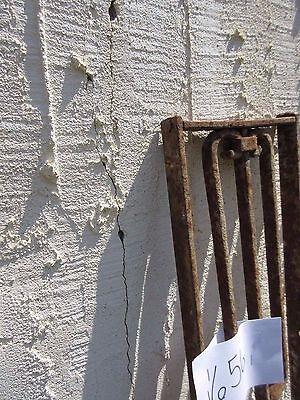 Antique Victorian Iron Gate Window Garden Fence Architectural Salvage Door #656 4