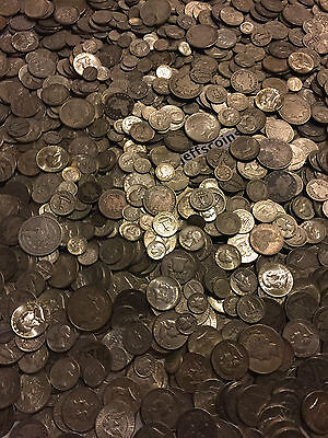 ✯1 Ounce OZ 90% SILVER US COINS $✯OLD ESTATE SALE LOT HOARD✯ BULLION +FREE GOLD✯ 6