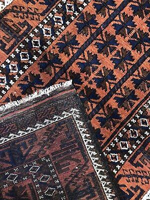 Beautiful Balouch - 1930s Antique Rug - Tribal Carpet - 3 x 5.6 ft. 8