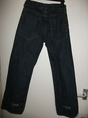 Next Boys Blue Distressed / Ripped Jeans Age 11 3