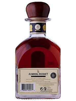 Admiral Rodney Extra Old Rum 700mL bottle Dark Rum 2